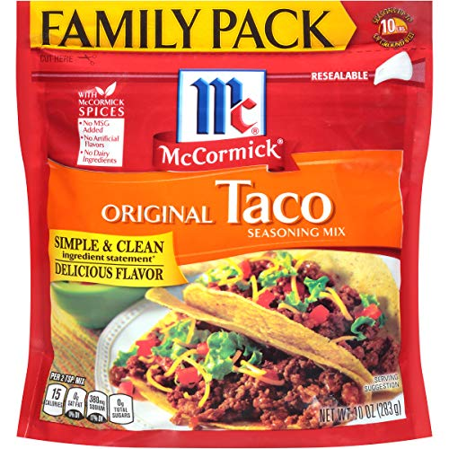 McCormick Taco Seasoning Mix, 10 oz