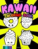 Kawaii Coloring Book: Kawaii Characters on Cute Patterns for Coloring   Cute Japanese Style Coloring Book For Adults and Kids   Super-Cute dragon, ... cream, Donuts, Unicorn, Mermaid, Sloth, etc