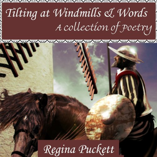 Tilting at Windmills & Words audiobook cover art