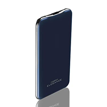 Powerup stay charged ® Slim Designed 10000mAh Aluminium Shell Li-Polymer Battery Power Bank with Dual Input Micro USB and 8-Pin for iPhone 6/6S/7/7 Plus/8/8 Plus/X/XR/XS/XS MAX and SE 2020 (Blue)