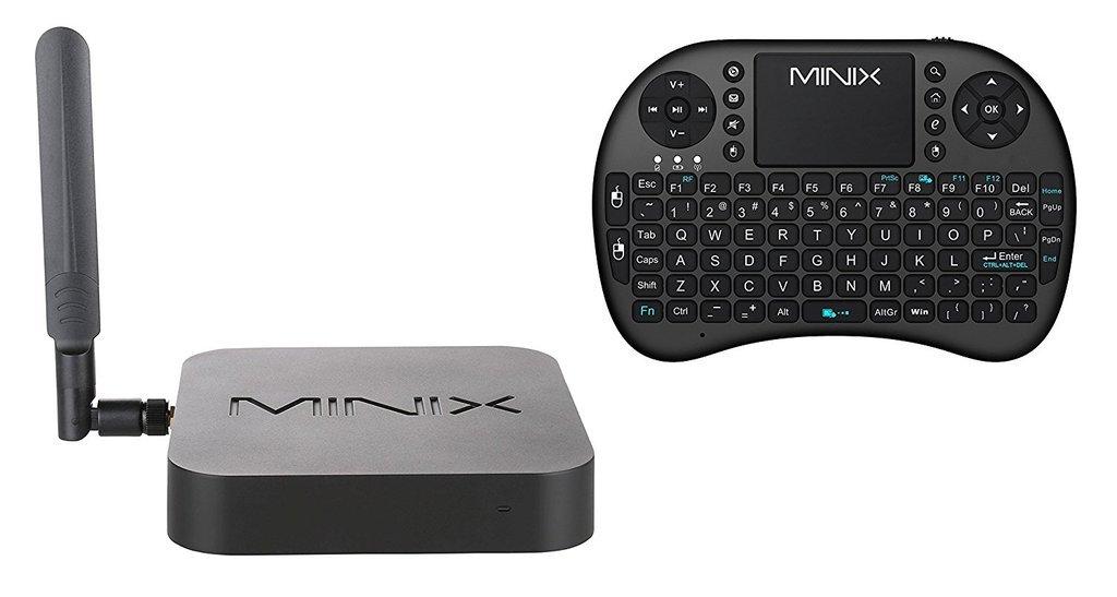 MINIX NEO U9-H Smart TV Box With MINIX NEO K1 Wireless Keyboard Remote Control, Amlogic S912 Octa-Core Android 6.0 Marshmallow Mini PC [2GB/16GB/4K/HDR/DTS].: Amazon.es: Electrónica