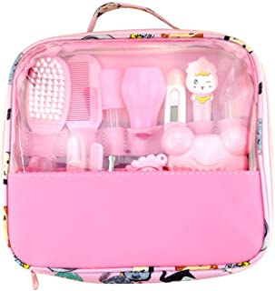 æ— Baby Healthcare and Grooming Kit 13 in 1 Baby Essential Care Accessories with Carry Bag Nail Hair Care Grooming Set for Home Travelling Use