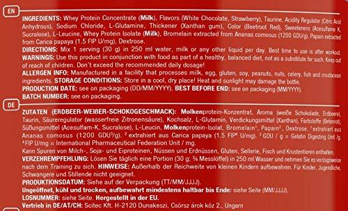 Scitec Nutrition Whey Protein Professional Erdbeer-Weiße Schokolade, 1er Pack (1 x 2350 g) - 6
