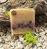 Premium Seife mit Rosenduft - hochwertige Seife aus natürlichen Rohstoffen - palmölfreie Pflege-Seife - vegane Handseife - frischer Rosenduft für Dufterlebnis - handgeschöpft in Österreich