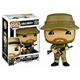 Lotoy Funko Pop Games - Call of Duty Capt. John Price #72 Vinyl 3.75inch Collectible Figure for Games Fans Anime Derivatives Gift