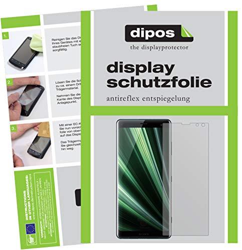 dipos I 6X Schutzfolie matt kompatibel mit Sony Xperia XZ3 Folie Bildschirmschutzfolie