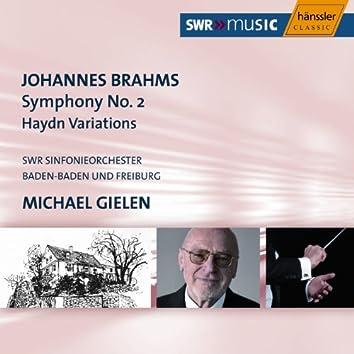 Brahms: Symphony No. 2 in D Major / Haydn Variations