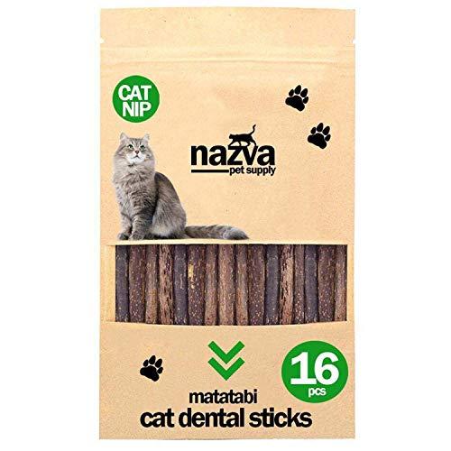 NAZVA Pets Supplies Silvervine Matatabi Sticks