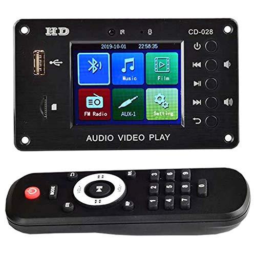 Lopbinte 5.0 MP3 Decodificador de Audio Reproductor de MúSica USB TF Radio FM DH MóDulo de DecodificacióN Digital Sonido DIY Amplificador de Altavoz DoméStico