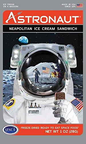 Astronaut Weltraum-Nahrung Eis Neapolitan -Sandwich 5 Paket
