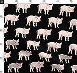 Schwein, Schweinchen, Tara Put, Bauernhof, Kuh Stoffe -