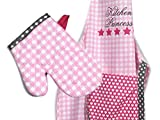 Emily´s Check Kochmütze - Küchenschürze & Topfhandschuh für Kinder 468.550, Küchenschürze & Topfhandschuh 3-6 Jahre, Kitchen Princess - 6