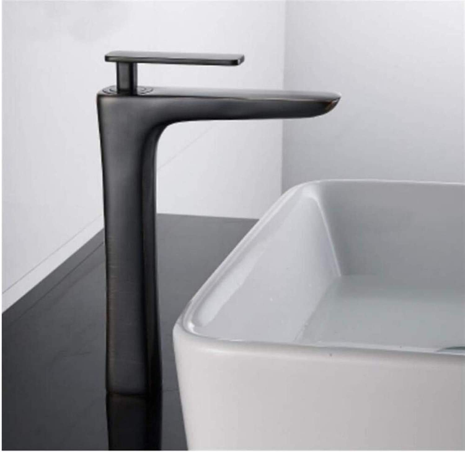 Modern Double Basin Sink Hot and Cold Water Faucettap Brand New Washbasin Hot Cold Mixer Deck Mounted