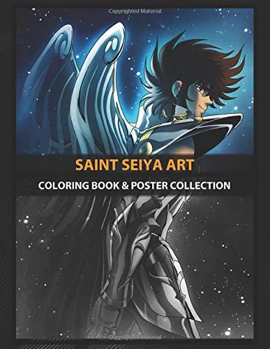 Coloring Book & Poster Collection: Saint Seiya Art Cosmic Pegasus Saint Anime & Manga