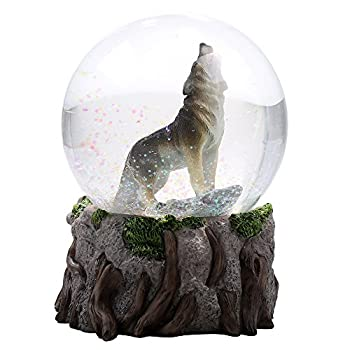 Best wolf snow globe Reviews