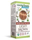 Cultivator's Organic Herbal Hair Colour - Light Brown 100g