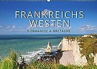 Frankreichs Westen - Normandie und Bretagne (Wandkalender 2022 DIN A2 quer): Highlights und Geheimtipps in der Normandie und der Bretagne (Monatskalender, 14 Seiten )
