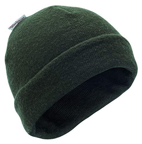 Woolpower 400 Pine Green Bonnet tricoté, Steingrauoliv