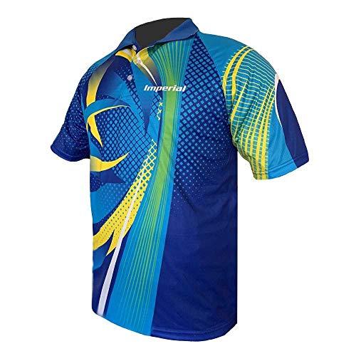Imperial Shirt F-8 (L) | - Funktionsfaser Tischtennis Shirt | Tischtennis Trikot | Tischtennis Hemd | TT-Spezial - Schütt Tischtennis
