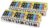 PGI-5 CLI-8 TONER EXPERTE® 30 XL Druckerpatronen kompatibel für Canon PIXMA iP4200 iP4300 iP4500 iP5200 iP5200R iP5300 MP500 MP600 MP600R MP610 MP800 MP800R MP810 MP830 MX850 | hohe Kapazität