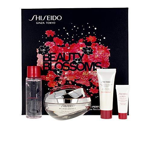 Shiseido Glow Revival Cream Set Gesichtspflegeset (Reinigungsschaum,15ml+Treatment Softener,30ml+Concentrate,5ml+Creme,50ml)