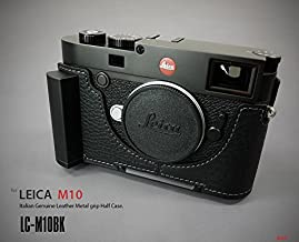 LIM'S Metal Grip Genuine Leather Camera Half Case for Leica M10 Black, LC-M10BK
