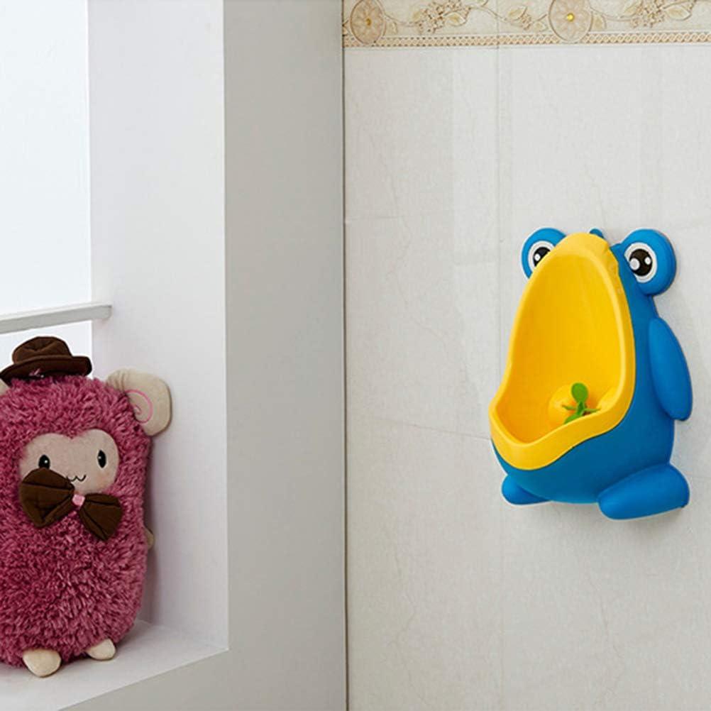 blu Vasino a forma di rana con bersaglio divertente