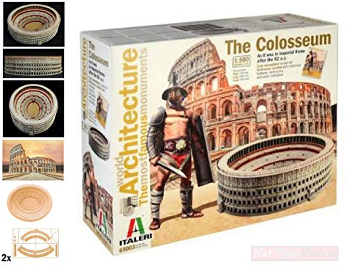 NEW ITALERI IT68003 Colosseum 41x35x11 Scala 1:500 MODELLINO Die Cast Model