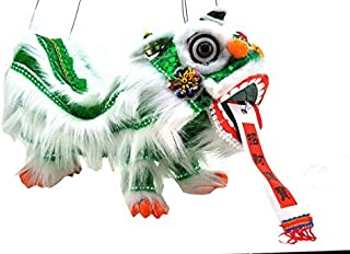 Chinese Hand Marionette Puppet (Green Lion Marionette) Color: Green Lion Marionette Model: