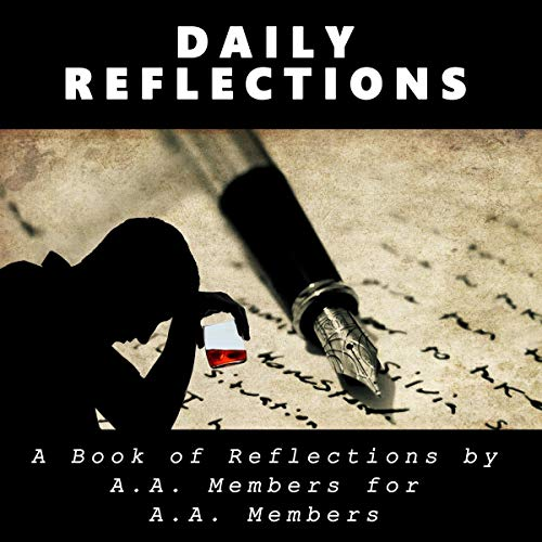 Daily Reflections: A Book of Reflections by A. A. Members for A. A. Members cover art