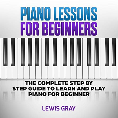Piano Lessons for Beginners audiobook cover art