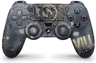 Skin Adesivo PS4 Controle - Resident Evil Village