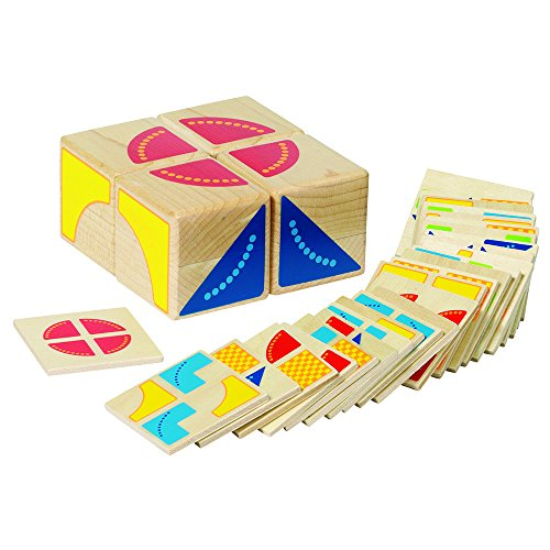 Goki 58649 - Legespel kubus