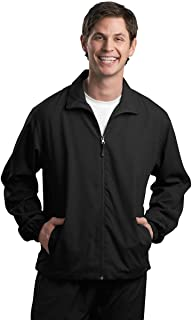 Sport-Tek Men's Full Zip Wind Jacket