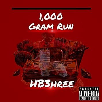 1,000 Gram Run