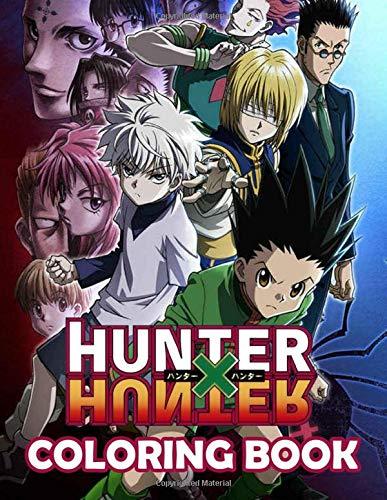 Hunter X Hunter Coloring Book: Manga Coloring Books For Naruto Fan. Beautiful...