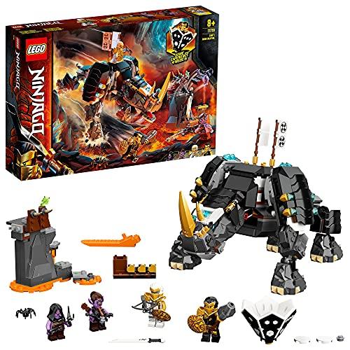 LEGO 71719 NINJAGO Zanes Mino-Monster, 2-in-1 Bauset und Brettspiel