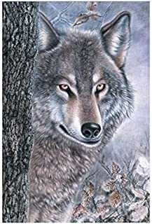 YOUCAIHUA King of Wolf The Wooden Puzzle 1000 Pieces Jigsaw Puzzle Adult Children's Educational toys75*50CM