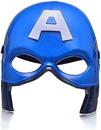 Avengers Super Hero Mask Avengers Costume Mask Super Hero Party Cosplay Mask (Captain America)