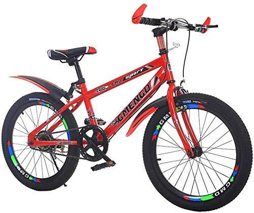 Kinderfahrrad, Gebirgsfahrrad, Studenten Bike, Hard Tail Bike, 20/22 Inch, Single Speed Fahrrad, männliche und weibliche Studenten Fahrrad, for Outdoor-Sport, Bewegung