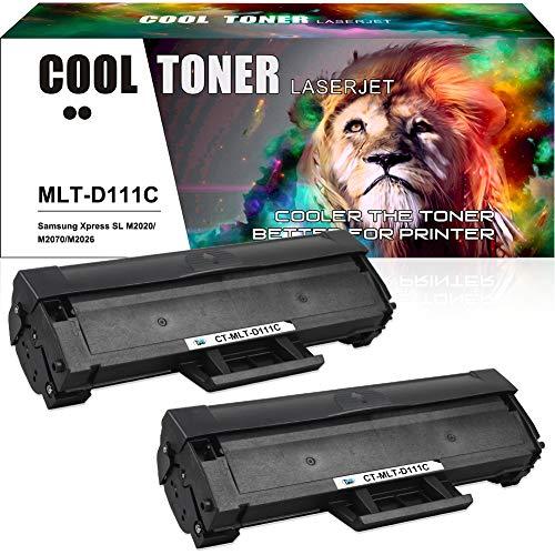 Cool Toner Compatible tonercartridge vervanging voor Samsung MLT-D111S D111S cartridges voor Samsung Xpress M2070 M2070W M2070FW M2026W M2026 M2020 M2020W M2022 M2022W M2024 SL-M2070W SL-M2070,2 zwart