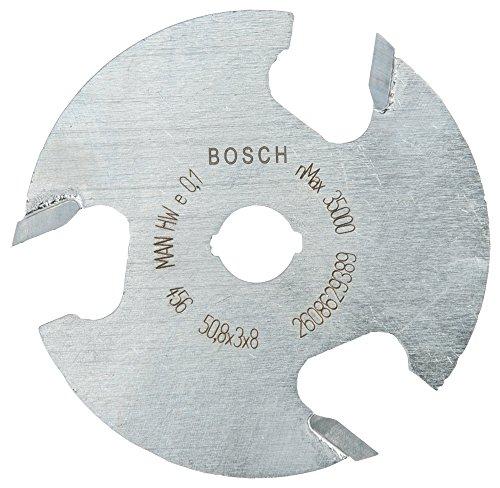 Bosch Professional Scheibennutfräser Expert for Wood (Holz, 8 x 51 x 3 mm, Zubehör Handfräse)