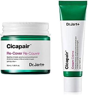 Dr.Jart+ Cicapair Cream + ReCover ドクタ?ジャルトシカペアクリ?ム50ml + リカバ? 55ml (2代目) セット [?行輸入品] [並行輸入品]