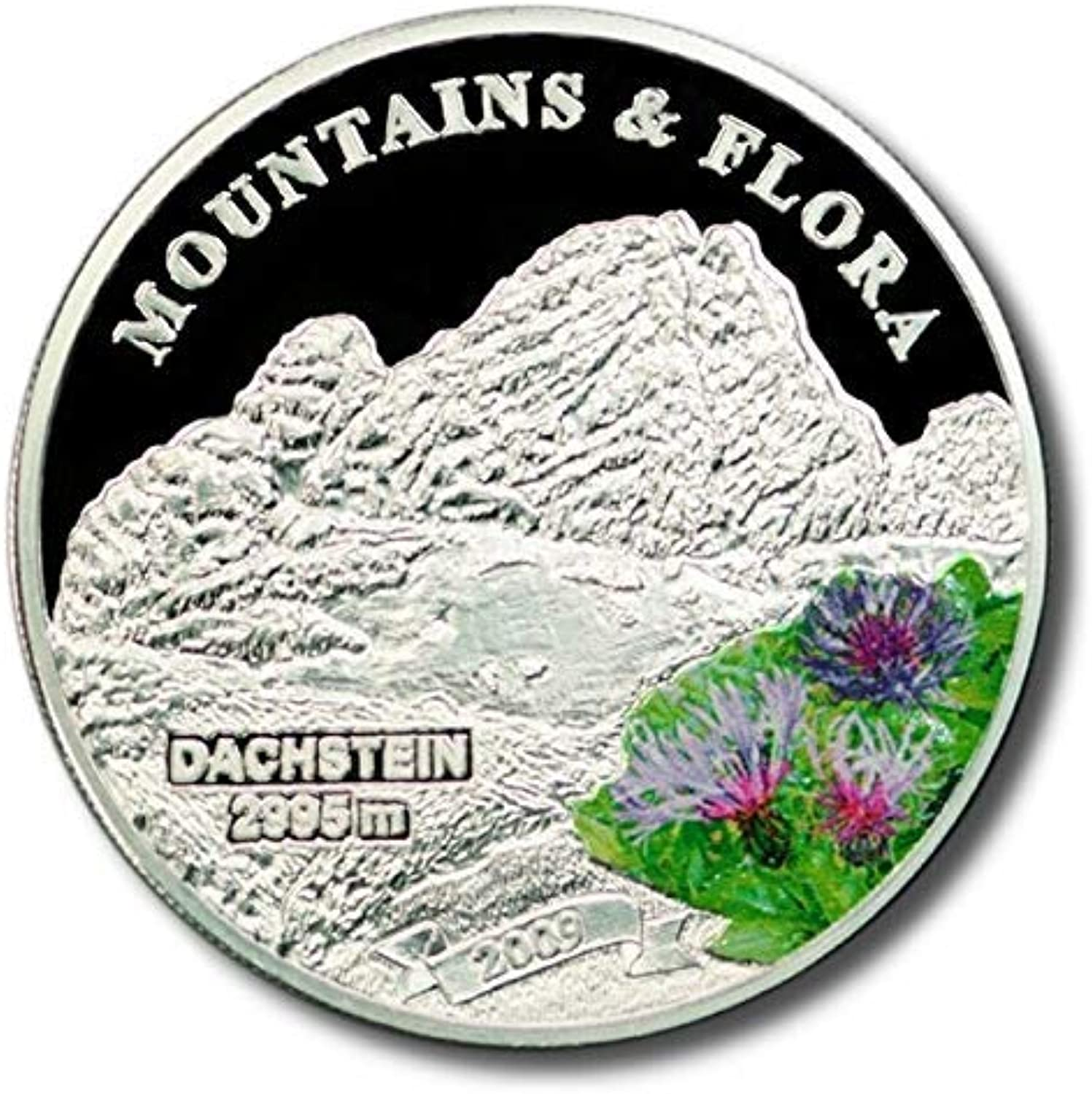 TGBCH Palau Mountains and Flora Dachstein 2009  5 Silver Coin