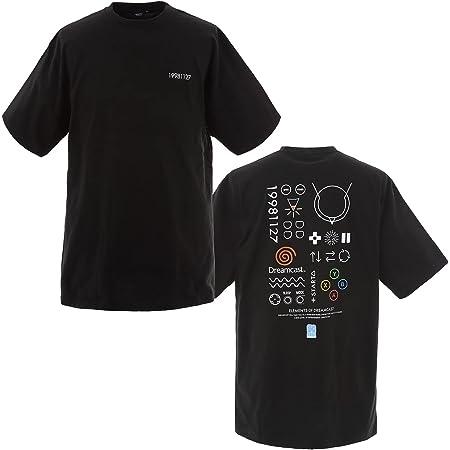 セガ設立60周年 Tシャツ(ドリームキャスト) ブラック - XL 【オフィシャルライセンス商品】 グラフト ゲーミングライフ GGL018-BLK-XL