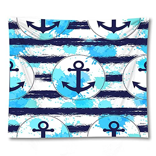 PPOU Caja de Regalo cosmética decoración Hippie patrón de Dibujos Animados Estera de Yoga hogar Colgante de Pared Manta de Tela Tapiz de Tela de Fondo A18 73x95cm
