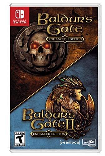 Baldur's gate 1 and 2 enhanced Nintendo Switch バルダーズ ゲート1および2の拡張 任天堂 スイッチ北米英語版 [並行輸入品]