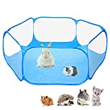 Amakunft Small Animals C&C Cage Tent, Breathable & Transparent Pet Playpen Pop Open Outdoor/Indoor Exercise...