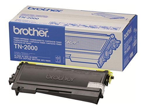 Brother TN2000 - Cartucho de tóner, Color Negro