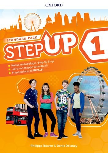 Step up. Student's book-Workbook. Con Mind map. Per la Scuola media. Con ebook. Con espansione online. : Step up. Student's book-Workbook. ... espansione online. - [Lingua inglese]: 1: Vol. 1